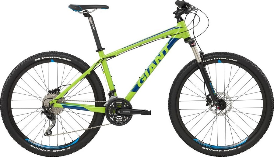 Giant Talon 1LTD 2017 zielony